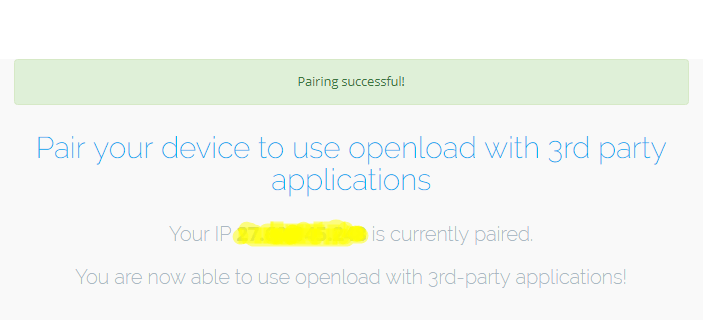 IP paired