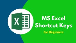 MS-Excel-Shortcut-Keys