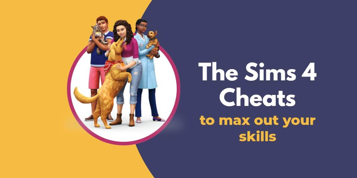 cheat code for skills sims 4 ps4
