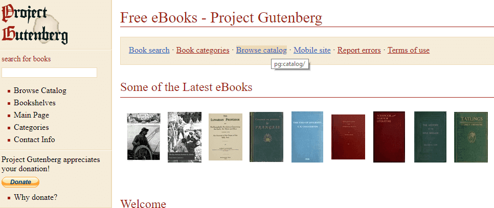 bookfi-project-gutenberg